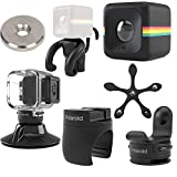 Polaroid Cube ACT II HD 1080p Lifestyle Action Video Camera Gift Bundle Black [並行輸入品]
