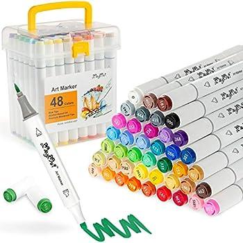 alcohol based brush markers