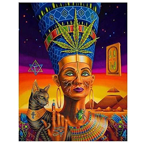 Rompecabezas de 1000 piezas para adultos para niños, rompecabezas -figuras decorativas en el antiguo Egipto- 1000 piezas de rompecabezas, tecnología Softclick significa que las piezas encajan perfect