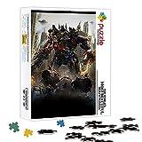 Rompecabezas de madera Transformers Color Puzzle 1000 piezas 29.5X19.5 pulgadas Juego de rompecabezas de juguete Decoraciones y regalos únicos para el hogar