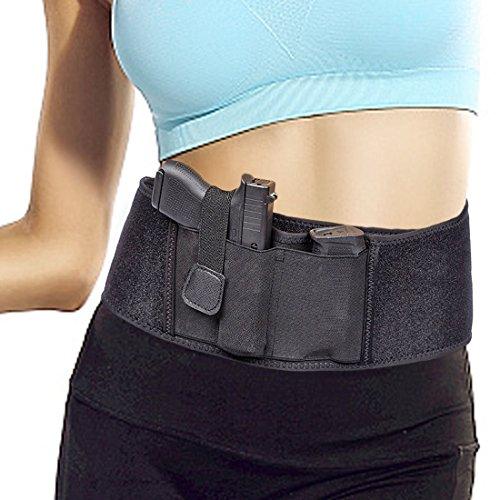 Ajustable Concealed Carry Funda de pistola de banda de cintu