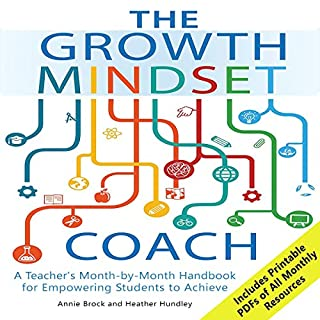 The Growth Mindset Coach audiobook cover art