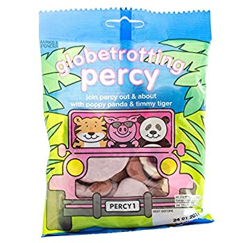 Marks & Spencer | Percy Pigs - Globetrotting Percy | 2 x 170g Bags | REDUCED FOR BLACK FRIDAY SALES WEEK!