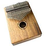 martin smith 17 tasto kalimba pollice piano con le note incise custodia protettiva e messa a punto di martello
