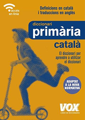 Diccionari de Primària
