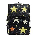 DXG1 - Mochila para mujer, hombre, adolescente, niña, niño, Stras, bolsa de moda, bolsa de viaje, colegio, casual, para regreso a casa, suministros de gran capacidad