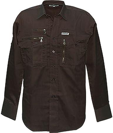Commando Industries CI - Camisa de manga larga de viaje, con muchos bolsillos, para exteriores, para viajes, tiempo libre, varios modelos