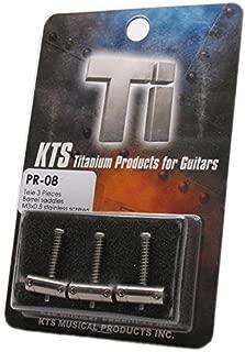 KTS Titanium PR-08 Upgrade Saddle Set for 3-saddle Fender Telecaster