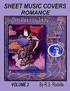 Sheet Music Cover Volume 2 Coffee Table Book: Romance