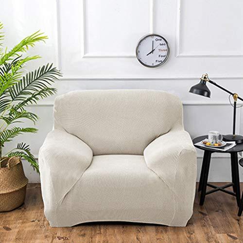 LLKK Funda de sofá de una Pieza,Funda de sofá Engrosada de Color sólido,Funda Universal pequeña Todo Incluido,Funda Holgada elástica Simple,Doble