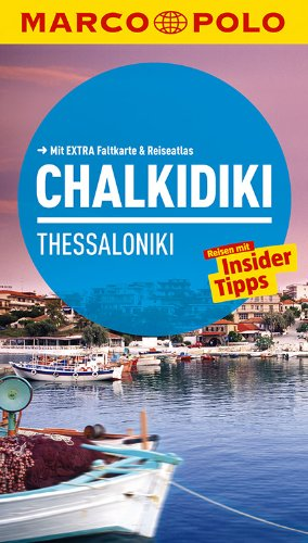 MARCO POLO Reiseführer Chalkidiki/Thessaloniki
