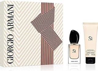 Giorgio Armani SI gift set (body lotion 75ml+Eau de Parfum 30ml) 1 Unidad 200 g