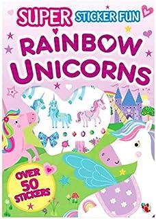 Super Sticker Fun Activity *Rainbow Unicorns* Paperback