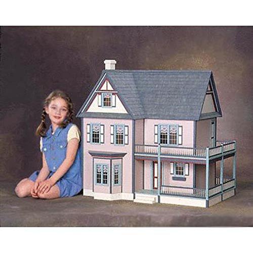 Real Good Toys Victoria's Farmhouse Dollhouse Kit - 1 Inch Scale