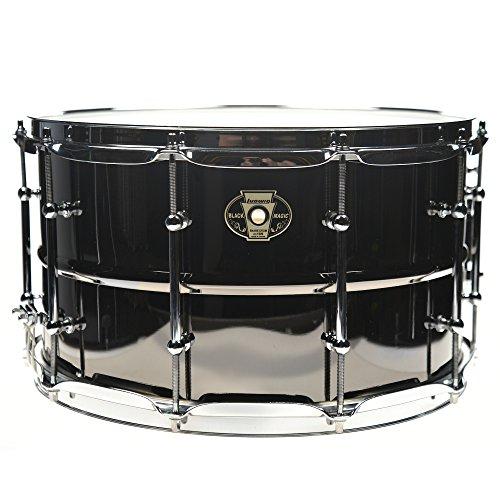 Ludwig 8 x 14 Black Magic Snare Drum