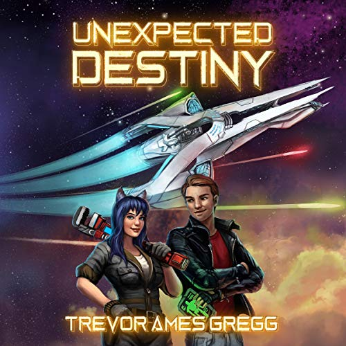 Unexpected Destiny audiobook cover art