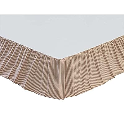 VHC Brands Kendra Stripe Bed Skirt