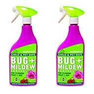Ecofective 2 x 1L Bug and Mildew Control Ready to Use