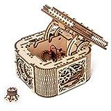 XW Joyero Ensamblado A Mano - - De Madera del Arte Asamblea Kit Modelo De Transmisión Mecánica - Láser De Corte De Madera De Juguete Puzzle Kit para Adolescentes Y Adultos