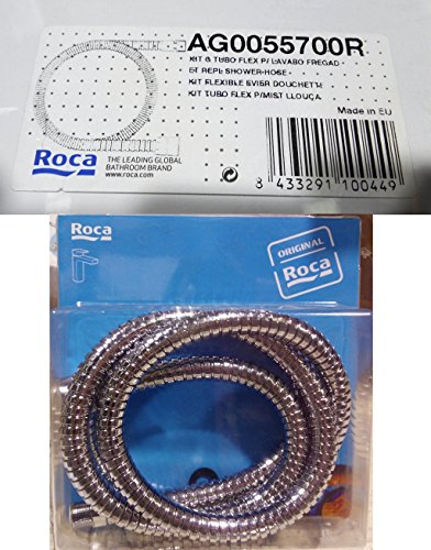Roca Recambios originales - Kit G Tubo Flex Para Lavabo Fregadero Recambio - Grifo - Griferia Originales - Flexibles De Alime . Recambios originales de grifería. Ref.AG0055700R
