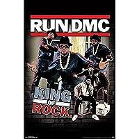 RUN DMC ランディーエムシー (結成40周年) - King of Rock/ポスター 【公式/オフィシャル】