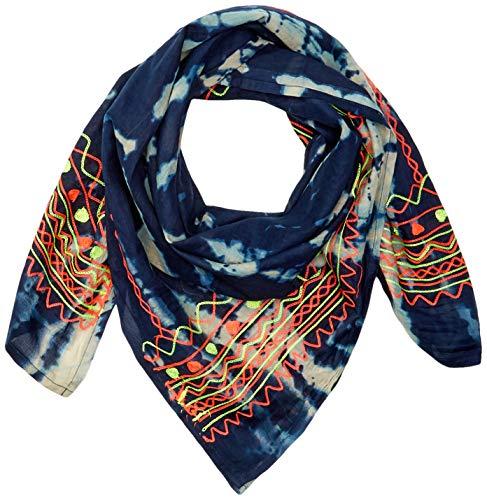EFERRI Damen Werde Taschentuch, Multicolor, 105X105 centimeters