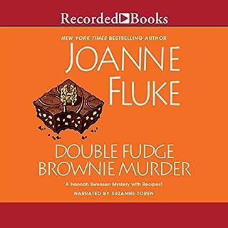 Double Fudge Brownie Murder audiobook cover art