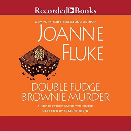 Double Fudge Brownie Murder cover art