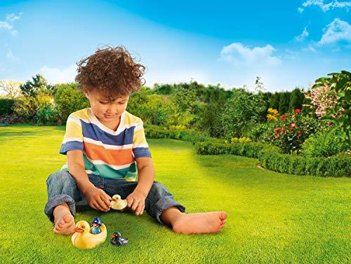 Familia de patos Playmobil 1.2.3 Aqua (70271)