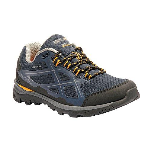 Regatta - Chaussures KOTA - Homme (43) (Bleu Marine/Jaune)
