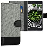 kwmobile Wallet Case Compatible with Razer Phone 2 - Fabric
