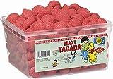 Haribo fresa tagada caramelos 1.1kg Full sellado Tub (210piezas)