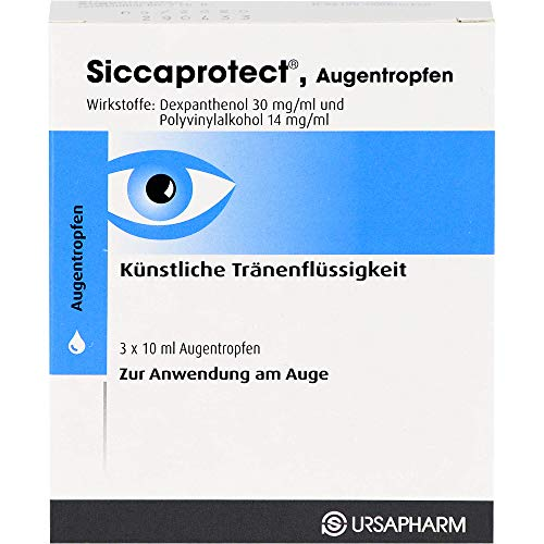 Siccaprotect Augentropfen, 30 ml Lösung