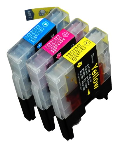 Blake Printing Supply � Compatible Ink Cartridge Replacements for Brother LC-71, LC-75 - 1 Cyan, 1 Magenta, 1 Yellow, 3 Pack