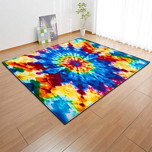 Groot tapijt voor woonkamer, slaapkamer, zwembad, antislip, comfortabel tapijt met bloemenextracten, 3D-print, klasse antislip, Home Decor deurmatten, rechthoekig 40×60cm(16×24inch) Zoals getoond