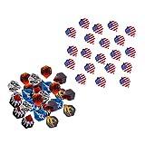 sharprepublic 50 Unidades, Bandera Nacional de EE. UU, Patrón de Llama, Vuelos de Dardos Estándar Profesionales