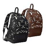GOODHOPE Bags Travelwell Iris Backpack Cooler [Set of 2] Color: Black