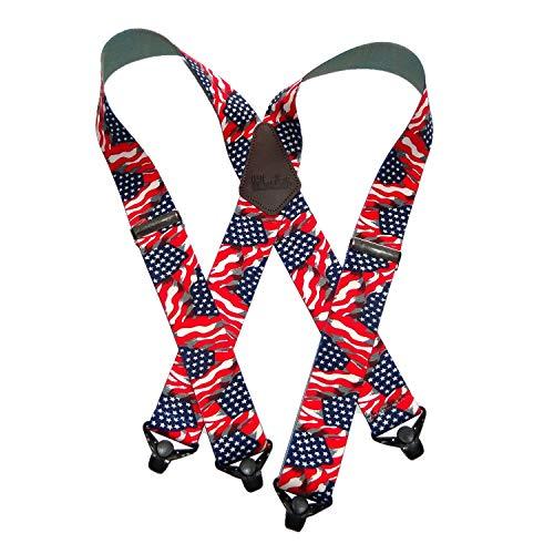 Holdup Suspender Company's Heavy Duty USA Flag 2'...