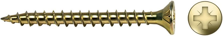 Tornillos avellaneros para madera aglomerada de acero inoxidable,/SPL Profi SK A2/TORX