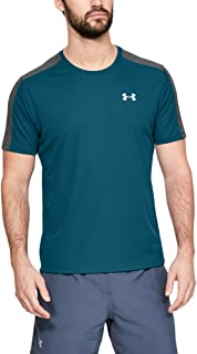 Hombre Verde S Under Armour UA Speed Stride Singlet Tanque Teal Vibe//Pitch Gray//Reflective 417