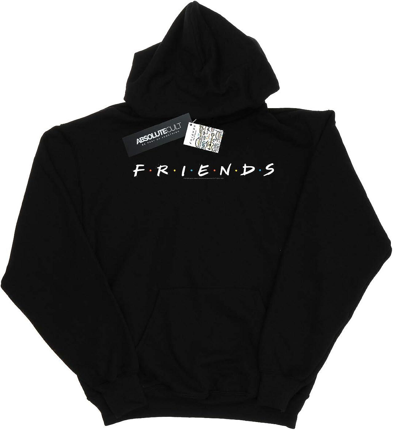 Absolute Cult Friends Femme Text Logo Sweat À Capuche Noir