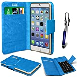 N4U Online® - ZTE Grand S3 Blue PU Leather Suction Pad