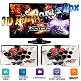 ZQYR# Pandora's Box 3D Home Arcade Konsole, 2 Spieler, 1280x720 Full HD Multiplayer Arcade Game...