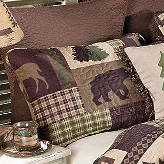 Black Forest Décor Woodland Cabin Wildlife Pillow Sham