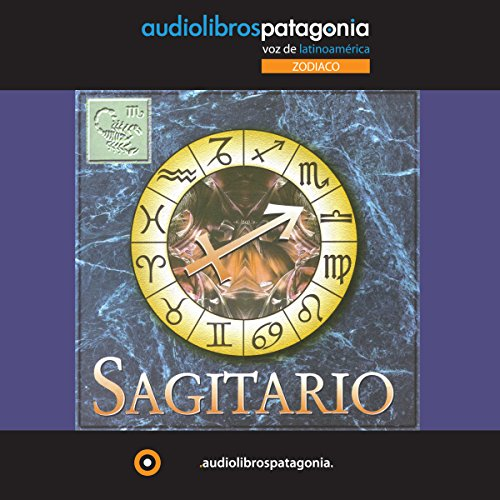 Sagitario audiobook cover art