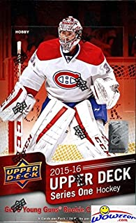 2015/2016 Upper Deck Series 2 NHL Hockey Factory Sealed 24 Pack HOBBY Box! Loaded with(6) Young Guns Rookies & Memorabilia Card! Plus 4 Canvas,4 Portraits,5 OPC Update,1 OPC Rainbow Foil & More!