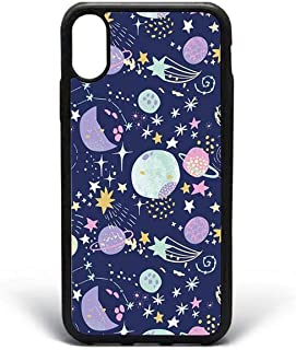 Kaidan iPhone 6 6s Plus Stars XS Max XR X Colorful Planets 8 7 Plus Cosmos Art 5 5S SE Case Samsung Galaxy S10e S10 Lite S10 Plus Night Sky S8 S9 Plus Universe Note 9 Google Pixel 3 2 XL Moon apPD244