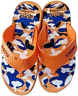 flip Flop Slippers Kid Boys Orange