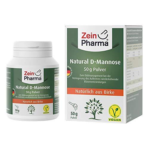 NATURAL D-Mannose aus Birke ZeinPharma Pulver 50 Gramm