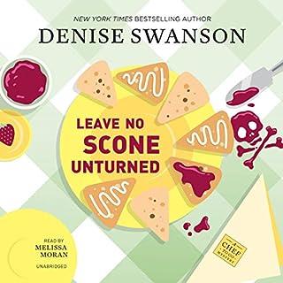 Leave No Scone Unturned audiobook cover art